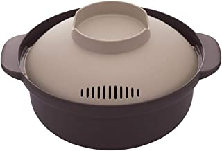 Microwave Hot Pot Maker, Made in Japan. Japanese Hot Pot and noodle microwave cooker for one person.