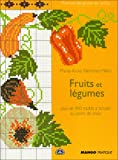 carnet de point de croix - Fruits et legumes