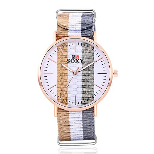 ZHANGZZ Booty Uhr High-End-Uhr Uhr Mode Mädchen Armband Uhr SOXY Uhr zu sehen (Color : 3)