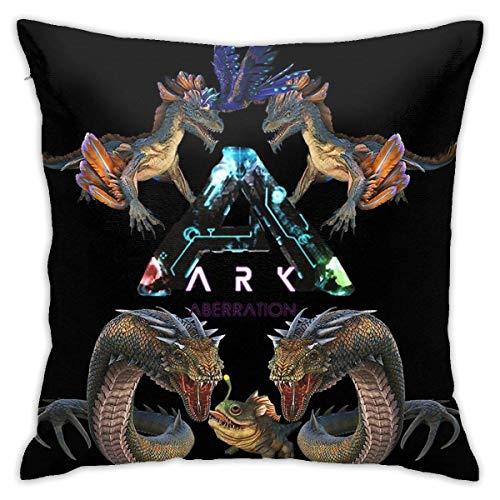 Hdadwy Ark Survival Evolved Aberration Home Dekorative Kissenbezüge für Sofa Couch Kissen Kissenbezüge 18x18 Zoll