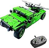 Sports Outdoors Camión de control remoto Camión militar UAV Carrier con drone aéreo Ladrillos de construcción Juguete de control de radio 506 piezas Kit de automóvil todoterreno para adultos y niño