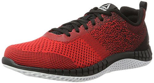 Reebok RBK Print Run Prime Ultk, Zapatillas de Running para Hombre, Rojo (Primal Red/Black/White/Pewter), 43 EU