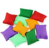 Hslife 20 Pack Colorful Nylon Bean Bags for...