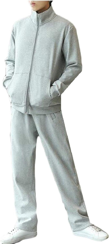 f152c3688 RG-CA Men's Men's Men's Running Tracksuit Set Stand Colar Full Zip Jacket  and Pants Set 77368f