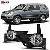 Winjet Compatible with [2005-2006 Honda CR-V] Driving Fog Lights + Switch + Wiring Kit