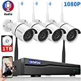 【8CH Expandable】Security Camera System...