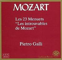 Mozart: Les 23 Menuets