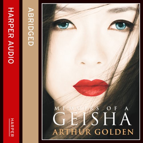 Memoirs of a Geisha audiobook cover art