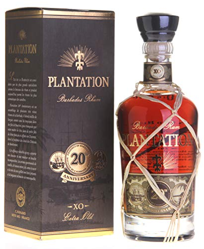 Plantation Barbados Extra Old 20th Anniversary Rum (1 x 0.7 l) …