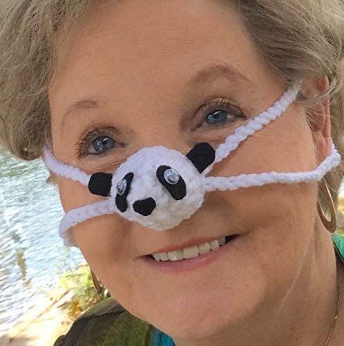 Panda Nose Warmer by Aunt Marty's Original Nose Warmers