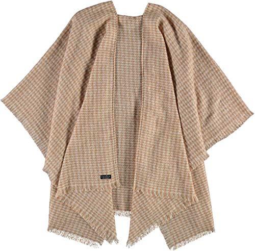 FRAAS Cashmink®-Poncho -Made in Germany für Damen Camel