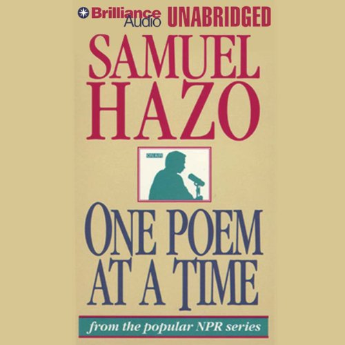 One Poem at a Time audiobook cover art