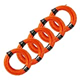 EGO Power+ AL2420P Pre-Cut 0.095-Inch Twisted Line (5-Pack) for EGO 15' Trimmer & Multi-Head String Trimmer Attachment