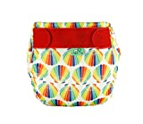 Totsbots Swims–Urchin design riutilizzabile lavabile pannolino in taglia 1