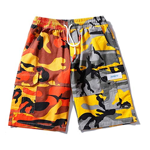 Heren Zomer Casual Shorts Camouflage Shorts Sport Broek Camouflage Multi-Bag Overalls S-XXXL