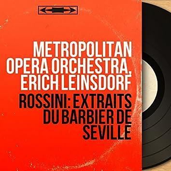 Rossini: Extraits du Barbier de Séville (Mono Version)