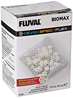 Specifically designed for the Spec Fluval aquarium, Biomax ensures organic filtration The large surface area of BioMAX promotes the growth of friendly bacteria to maximise the elimination of waste 6 g Model number: A1378