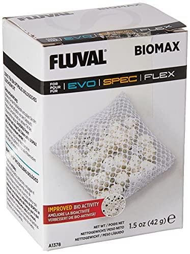 Fluval Biomax, Bio-Ringe mit einem komplexen Porensystem für Nutzbakterien, geeignet für Flex 34 L, 57 L und 123 L sowie die Spec 1, 3 und 5 Aquarien, 60g