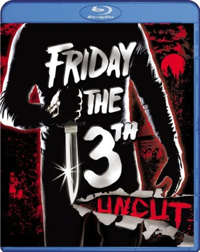 Friday the 13th Uncut Blu ray product image