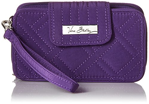 Vera Bradley Women's Microfiber Smartphone for iPhone 6 Wristlet , Elderberry, One Size