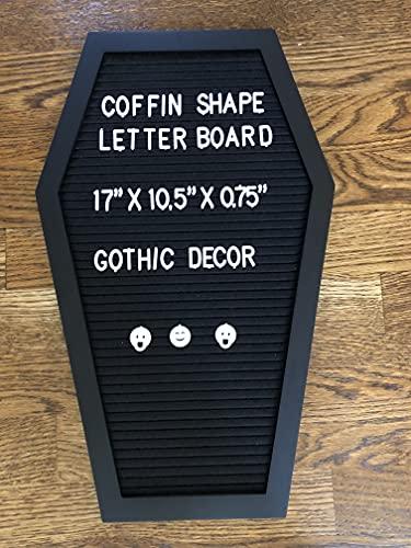 Coffin Letter Board
