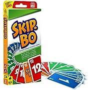 Skip-Bo ist ein zeitloses Kartenspiel für die ganze Familie von den Machern von UNO Spieler verwenden Geschick und Strategie, um sequentielle Kartenstapel zu erstellen Ziel des Spiels ist es, als erster Spieler die Karten seines Spielerstapels in de...