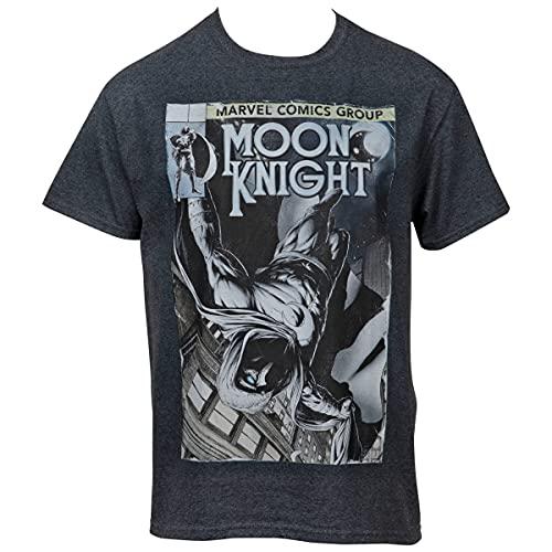 Camiseta com imagem de quadrinhos Cavaleiro da Lua da Marvel, Cinza, 3X-Large