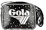 Gola Borsa Micro Redford Constellation Tracolla Ragazza 23X18 CM (Black/Silver)