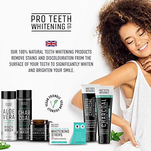 Dentifricio al Carbone Attivo per Sbiancante Denti - Sbiancamento Denti Professionale - Pulizia Intensiva per Eliminare l'alito Cattivo e Denti le Macchie…