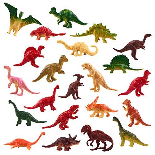 90pcs Dinosaurier Spielzeug Figuren Set - Jurassic Park Dinosaurier Spielfiguren Mini Plastik Dinosaur - Welt Saurier Spielzeug Partyzubehör Für Kindergeburtstag - ideales Innenspielzeug für Kinder