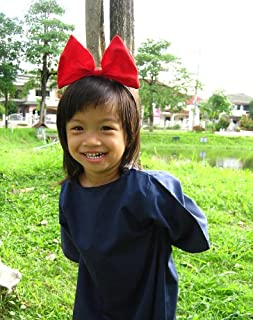 Kiki's Delivery Service Cosplay Kid Dress with Red Hair Band