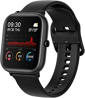 Ametoys P20 1.4'' Full Touch Smart Watch,Multi-sport Modes,Heart Rate Monitoring,cientific Sleep,Waterproof,Fitness Tracke...