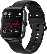 Docooler Smartwatch 1,4 inch fitness polshorloge, waterdichte fitnesstracker voor mannen en vrouwen, compatibel met Androi...