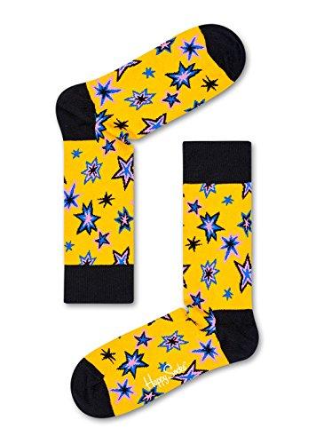 Happy Socks - Happy Socks Bang Bang Sock Woman BNG01-2000 - BNG01-2000 - Woman Eur 36-40 - US Wmn 5.5 to a 9.5 Wmn UK 3,5-6,5 - JPN 23-25,5