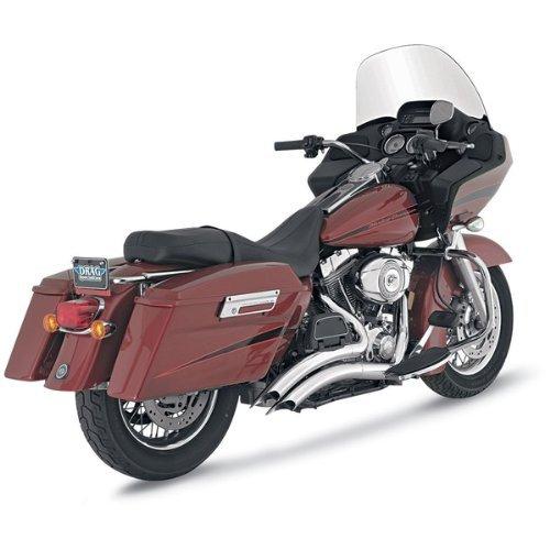 Vance & Hines Big Radius 2 in 2 cromati per Harley Davidson Touring 07-08