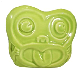 Minky Maori Monkey Head Tiki Mug - GREEN - Limited Edition Artist Mug