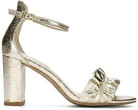 gold sandals heels sale
