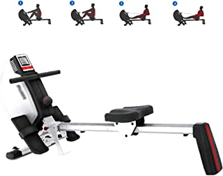 Rowing Machines Household Electromagnetically Controlled Silent Rowing Machine, Indoor Foldable Fitness Equipment, Gym Pro...