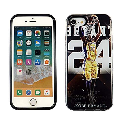 iPhone SE 2020 Dual Slim Armor Case CASEVEREST 3D Print Cover iPhone SE Amazing Spider-Man Kobe Bryant 24 Lakers iPhone…