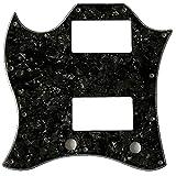 Piezas de guitarra para Gibson SG Standard Full Face Izquierda Guitarra Golpeador (4 capas negro perla)