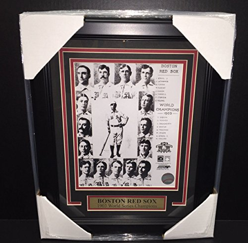 1903 BOSTON RED SOX WORLD SERIES CHAMPIONS 8X10 FRAMED PHOTO CY YOUNG