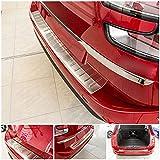 tuning-art 943 Protección Parachoques para Citroen C4 Grand Picasso 2 2013- Acero INOX, 5 años de garantía