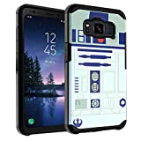 Galaxy S8 Active Case Star Wars R2D2 Astromech Droid Robot, DURARMOR Dual Layer Hybrid ShockProof Slim Fit Armor Air Cushion Defender Protector Cover for Galaxy S8 Active - R2D2 Star Wars