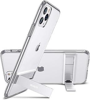 ESR Funda Metal Kickstand para iPhone 11 Pro, Soporte Vertical y Horizontal, Protección Reforzada contra caídas. Suave Tap...
