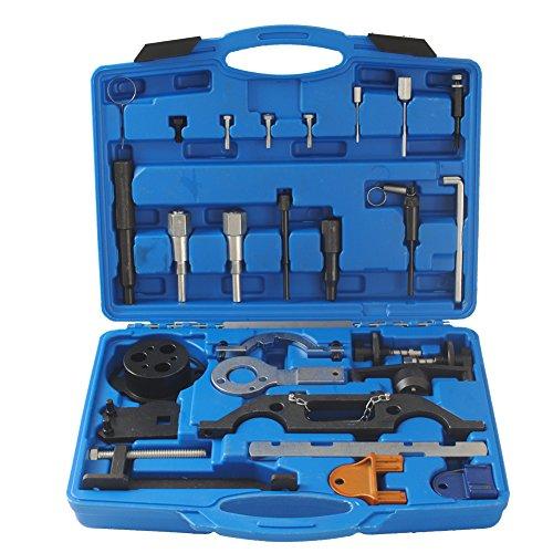 CCLIFE Motor Einstellwerkzeug CDTI DTI Steuerkette Zahnriemen Werkzeug Kompatibel mit Opel Vauxhall 1.3 1.9 CDTI 2.0 2.2 DTI