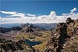 N\A Puzzle Jigsaw Puzzle De 500 Piezas Mountains Andorra Coma Pedrosa National Park Crag Rompecabezas