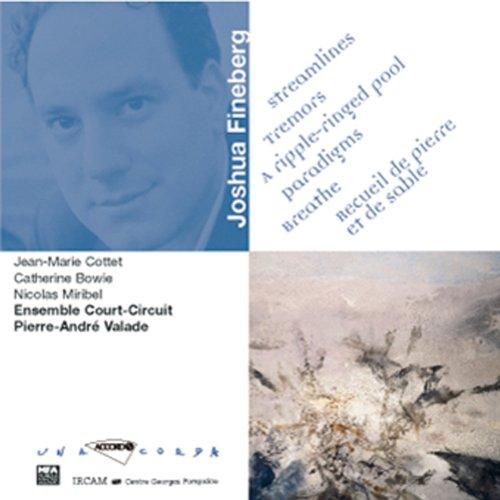 Fineberg: Paradigms pour flute clarinette piano percussion violon violoncelle et bande electro-Acoustique