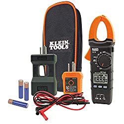professional Klein Tools CL110KIT Maintenance kit with electric tester / clamp meter, continuity tester, residual current circuit breaker …