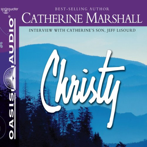 Christy audiobook cover art