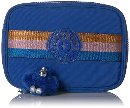 Estojo Escolar Kipling Blue Topics 2
